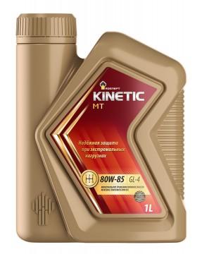 Трансмиссионное минеральное масло РОСНЕФТЬ всесезонное Rosneft Kinetic MT 80W-85 Канистра 1 л. фото