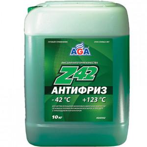 Антифриз готовый к применению (9.46 л/10 кг) AGA Z42 AGA050Z.