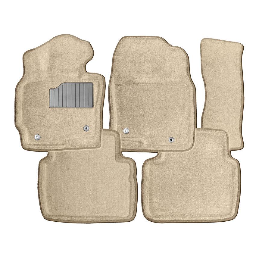 Ворсовые коврики 3D для Volkswagen Amarok 2010- / 84774 фото