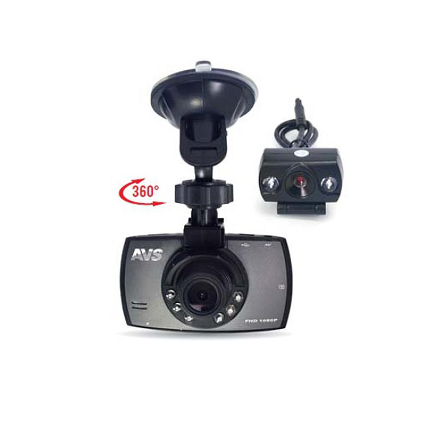 Видеорегистратор автомобильный AVS VR-246DUAL / A80919S фото