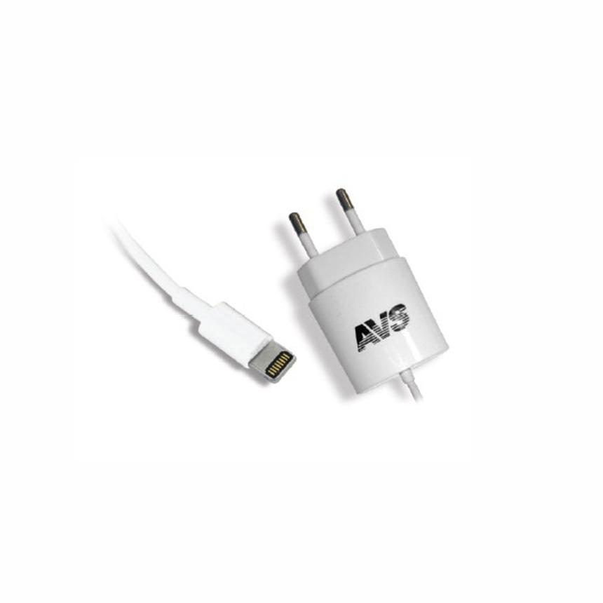 Сетевое зарядное устройство для iPhone 5/6/7/8 AVS TIP-511 (1,2А) / A78032S фото