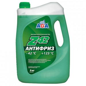 Антифриз готовый к применению (4.73 л/5 кг) AGA Z42 AGA049Z.