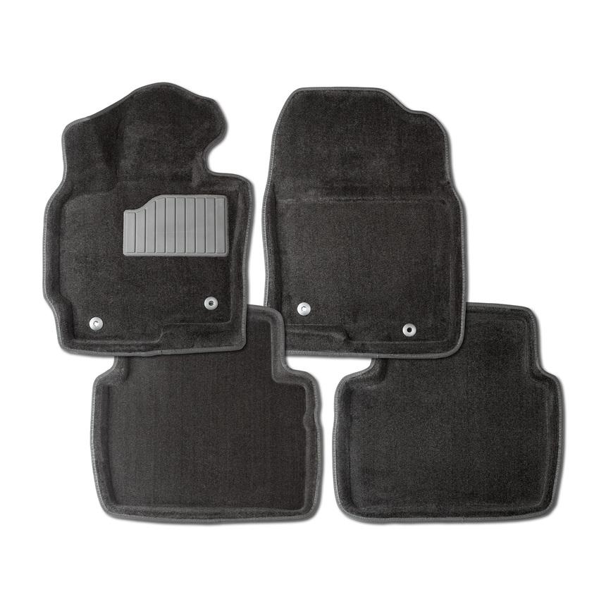 Ворсовые коврики 3D для Honda Civic IX Sd 2011- / 85423 фото