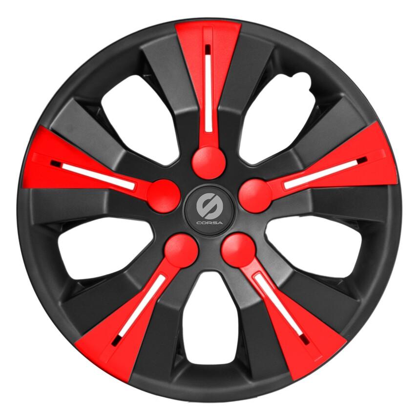 Колпаки на колёса SPARCO SPC/WC-1360 BK/RD (15) фото