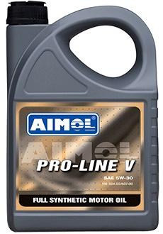 Моторное синтетическое масло AIMOL зимнее AIMOL PRO LINE V 5W-30 Канистра 1 л фото