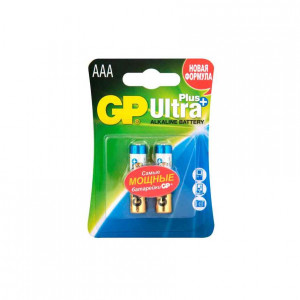 Батарейка GP AAA Ultra Plus Alkaline блистер 2 шт GP24AUP2CR2