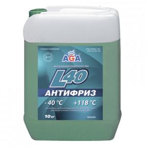 Антифриз готовый к применению (9.46 л/10 кг) AGA-L40 AGA009L.