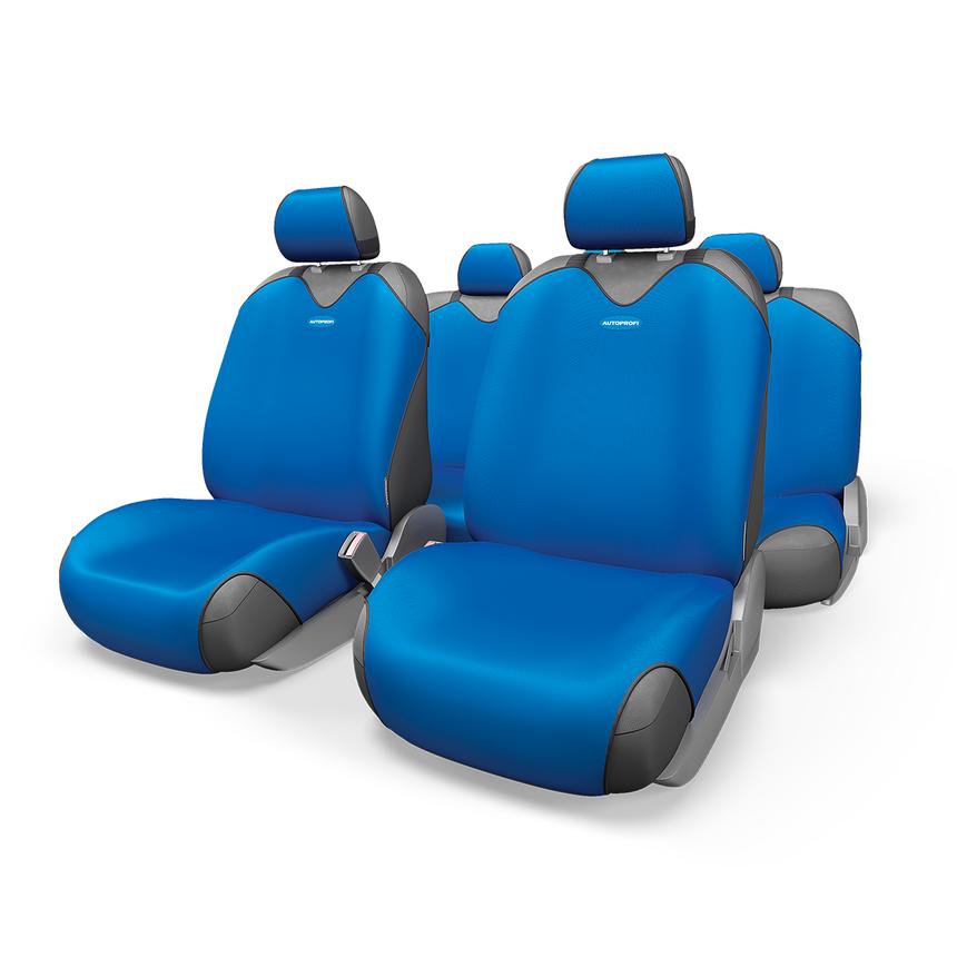 Майки на сиденья R-1 SPORT R-802 BL фото