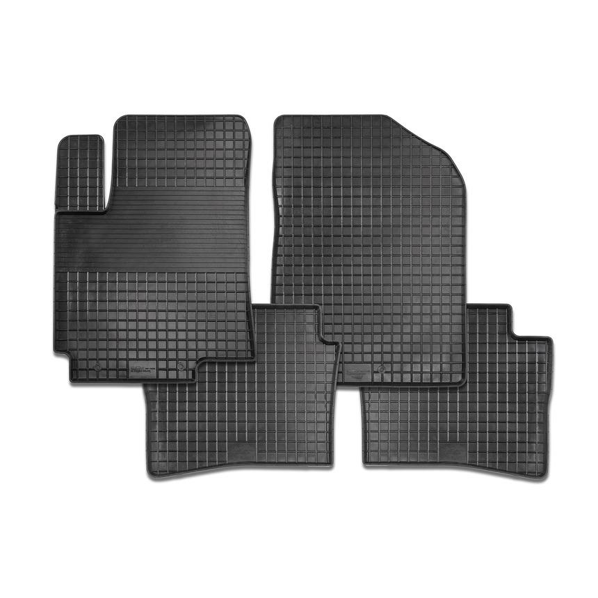 Резиновые коврики Сетка для Ford Focus III 2011-2015 / 82798 фото