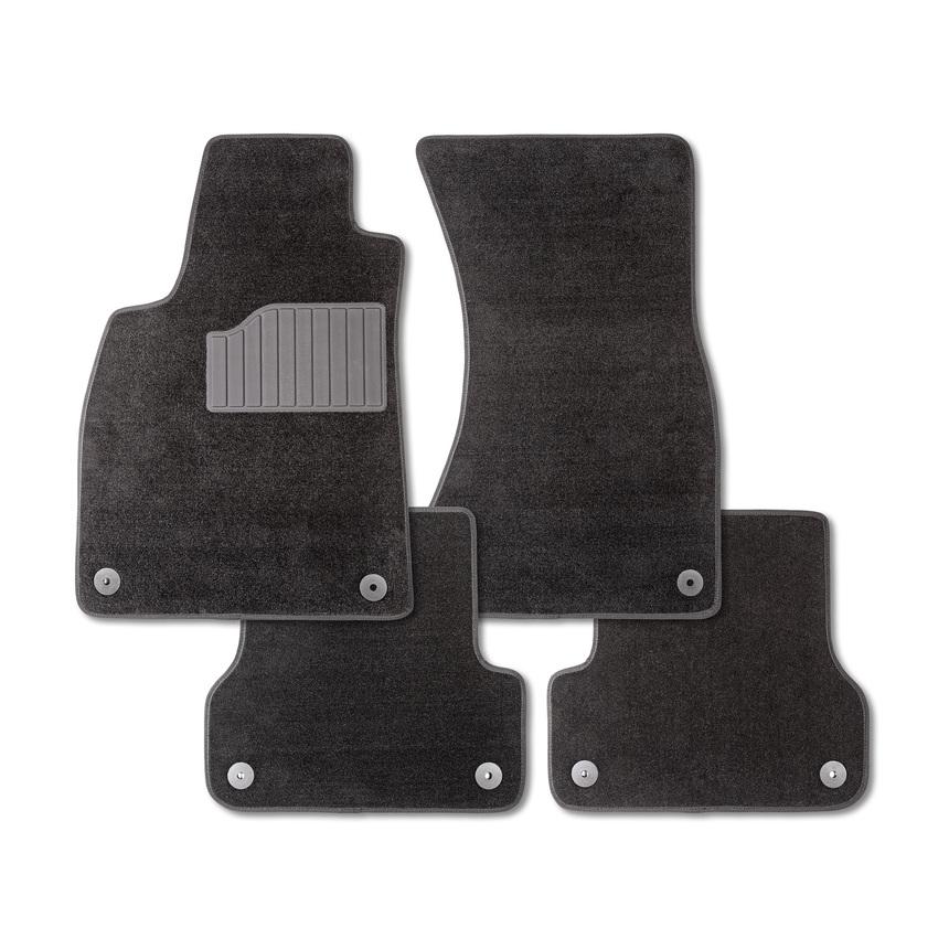 Ворсовые коврики LUX для Nissan Tiida 2007-2014 / 83169 фото
