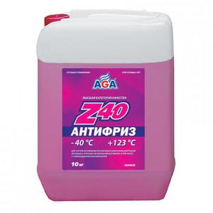 Антифриз готовый к применению (9.46 л/10 кг) AGA Z40 AGA003Z.