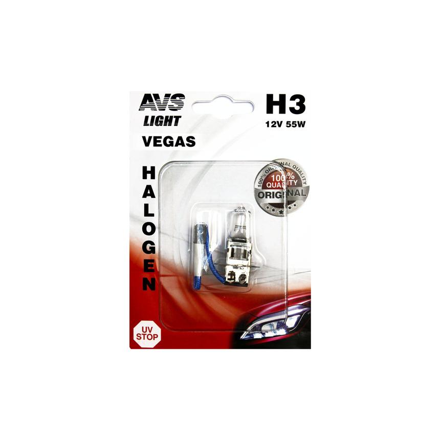 Галогенная лампа AVS Vegas в блистере H3.12V.55W A78481S фото
