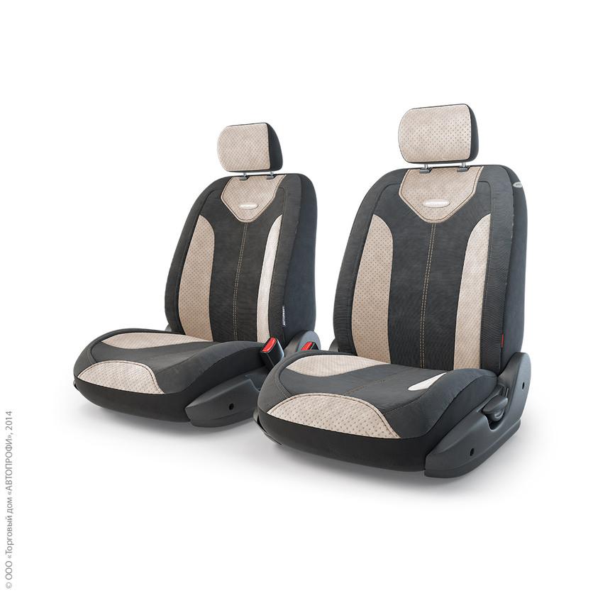 Чехлы на сиденья трансформеры MATRIX передний ряд TRS/MTX-001 BK/L.BE фото