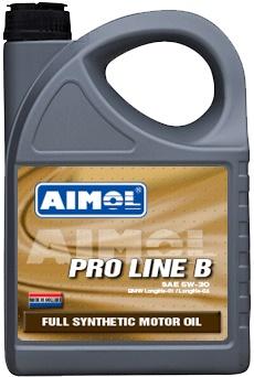 Моторное синтетическое масло AIMOL летнее AIMOL PRO LINE B 5W-30 Канистра 4 л фото