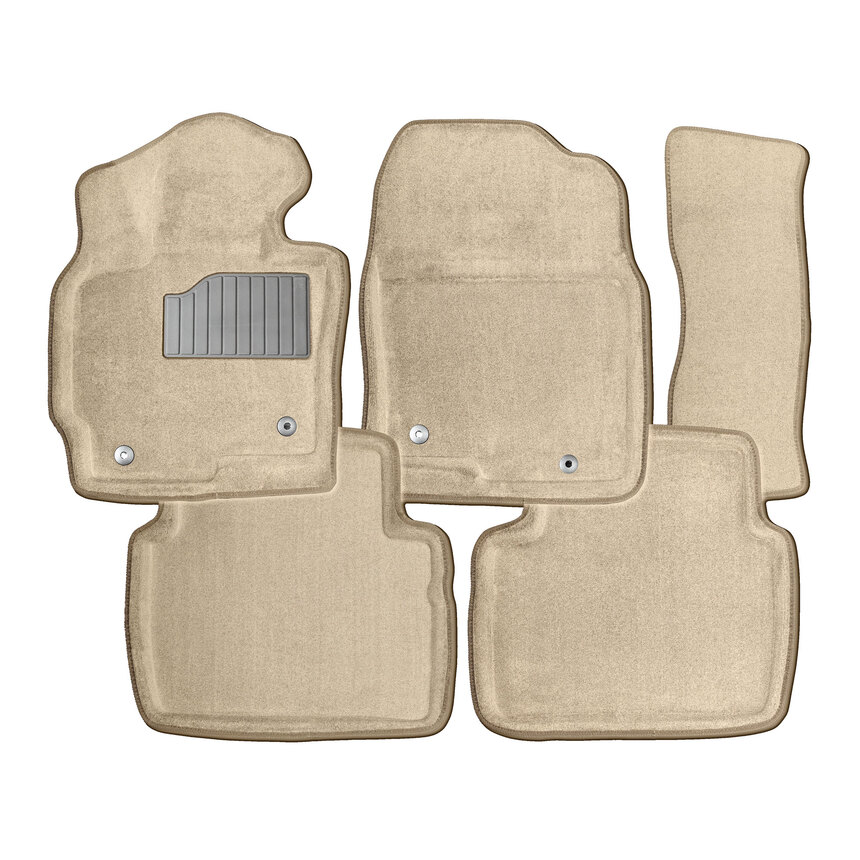 Ворсовые коврики 3D для Infiniti M37X 2010- / 86661 фото