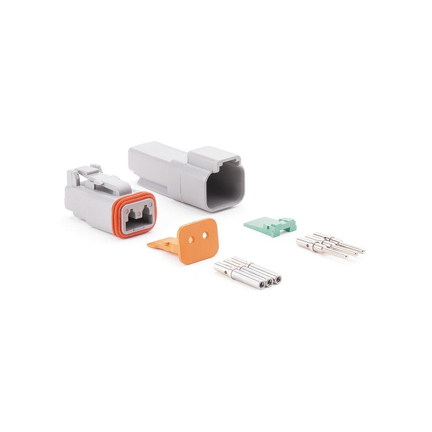 Коннектор на два контакта AM 2PK фото