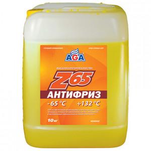 Антифриз готовый к применению (9.46 л/10 кг) AGA Z65 AGA044Z.