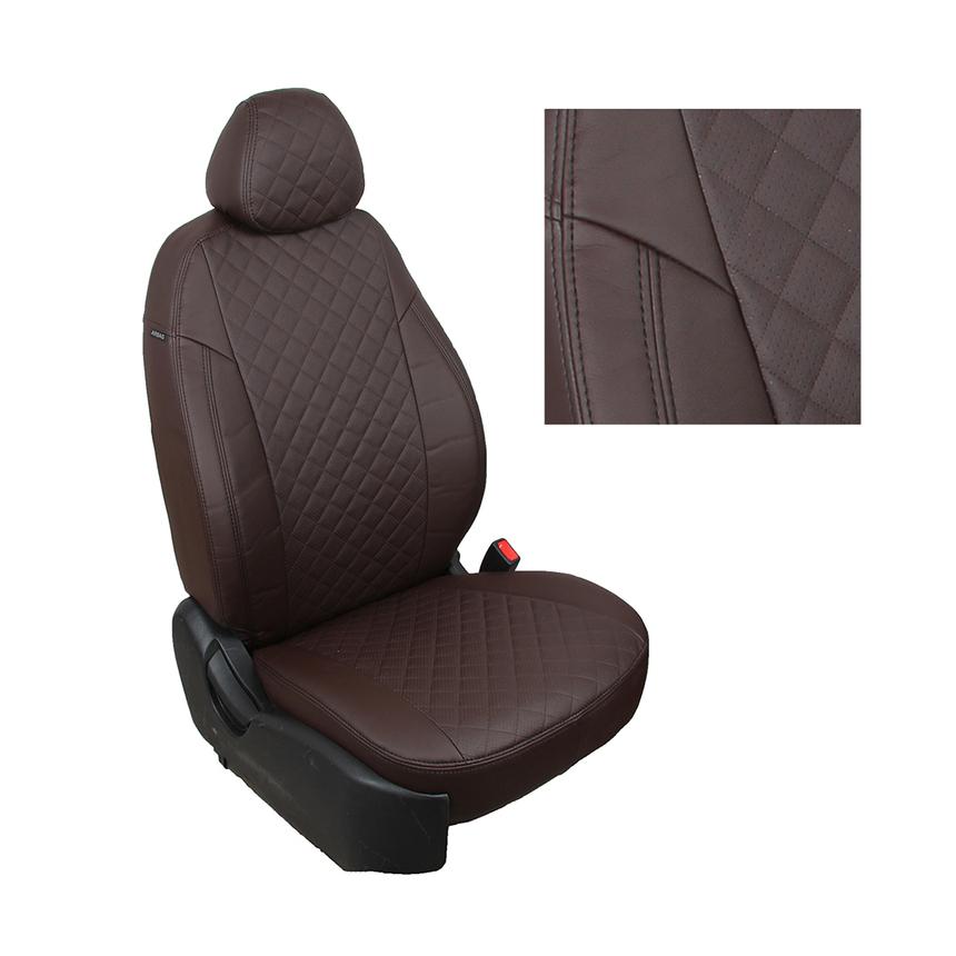Чехлы на сиденья Nissan Navara III (D40) с 05-15г. G CH/CH R / ni-nv-n05-shosho-r фото