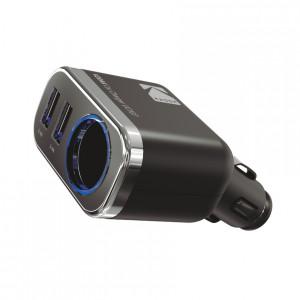 Автомобильное зарядное устройство KODAK для телефона/планшета, USBх2,