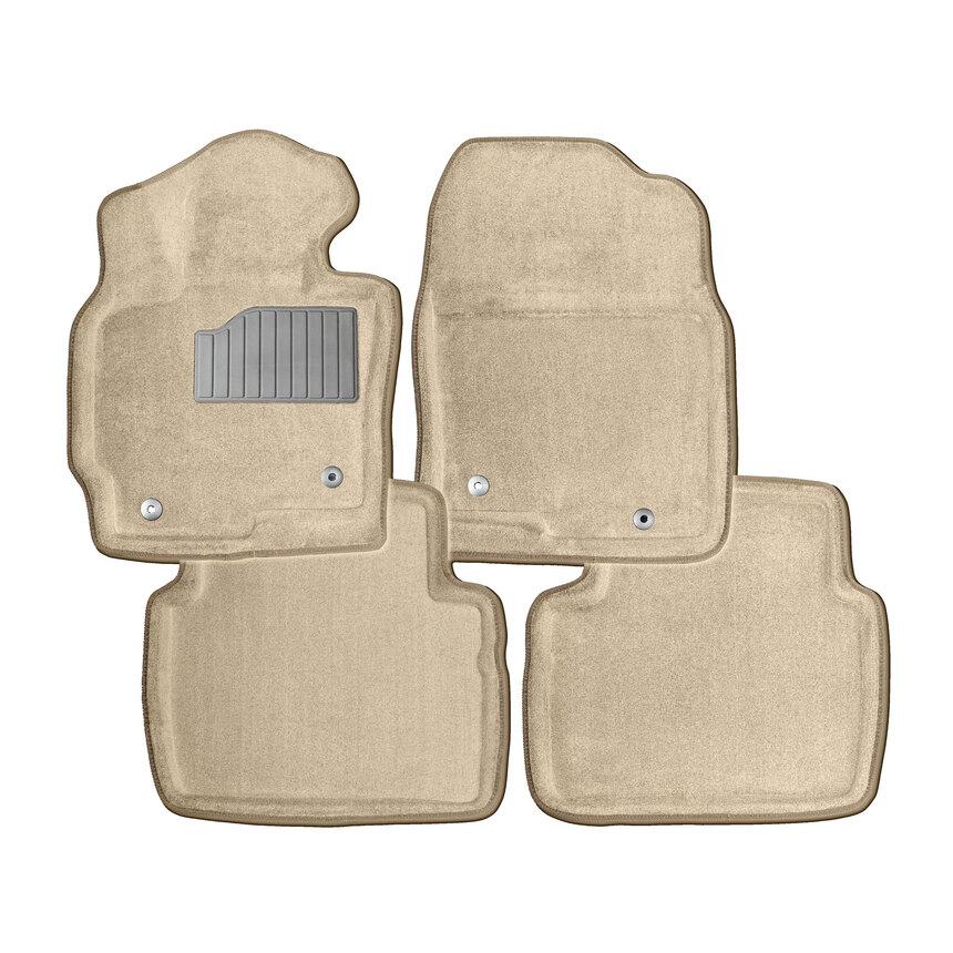 Ворсовые коврики 3D для Chevrolet Aveo I 2003-2011 / 84128 фото