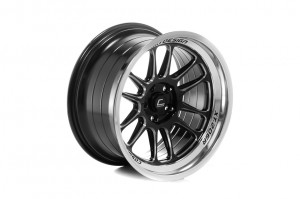 COSMIS  XT-206R 18x9,5 5x120 ET10 Black+diamond lip+spoke milling