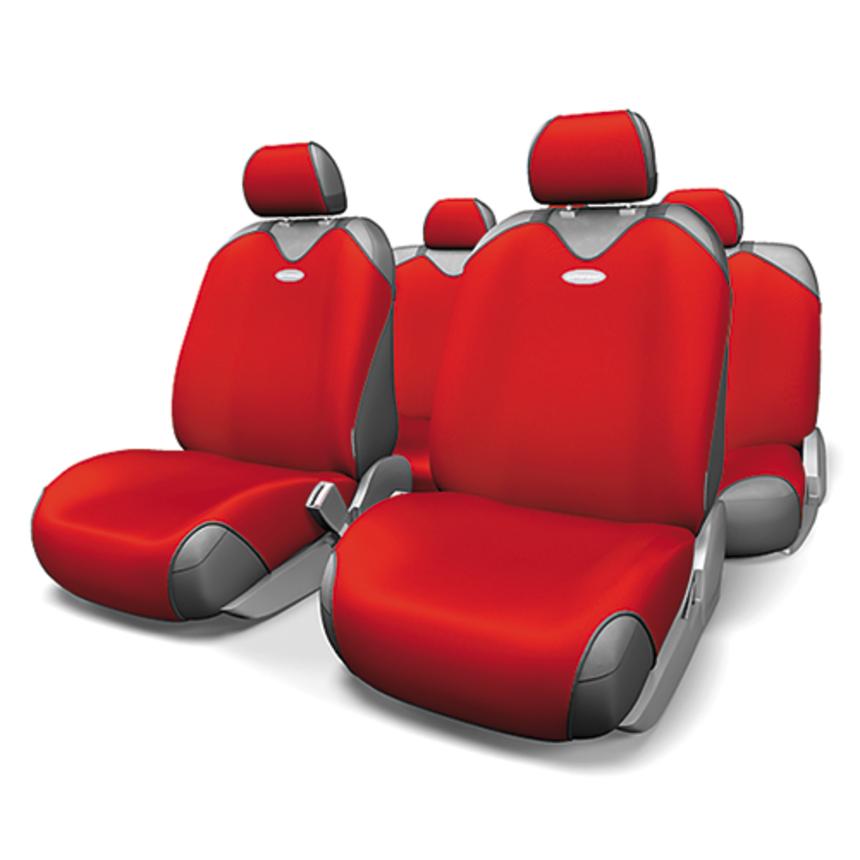 Майки на сиденья R-1 SPORT R-802 RD фото