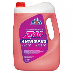 Антифриз готовый к применению (4.73 л/5 кг) AGA Z40 AGA002Z.